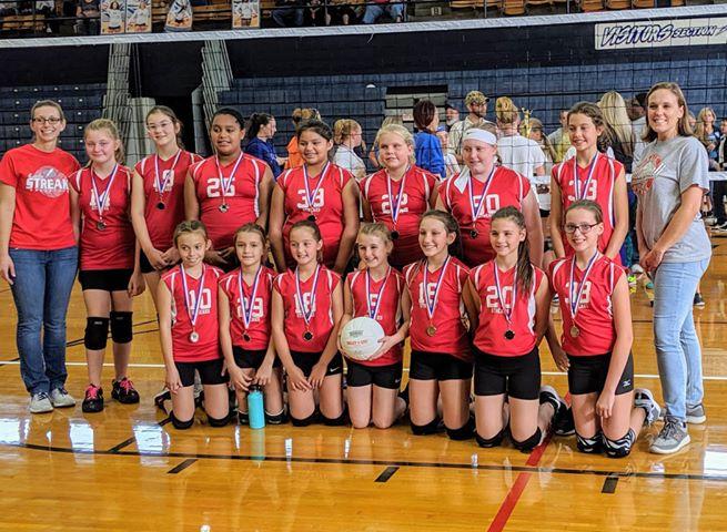 girls 6th grade vball 2019