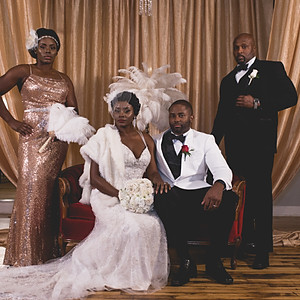 Harlem Renaissance Wedding