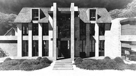 Rustic Villa KV architecture