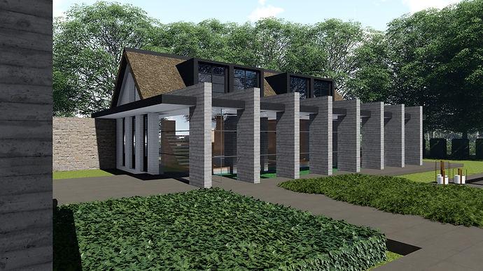 Landelijke architectuur architect