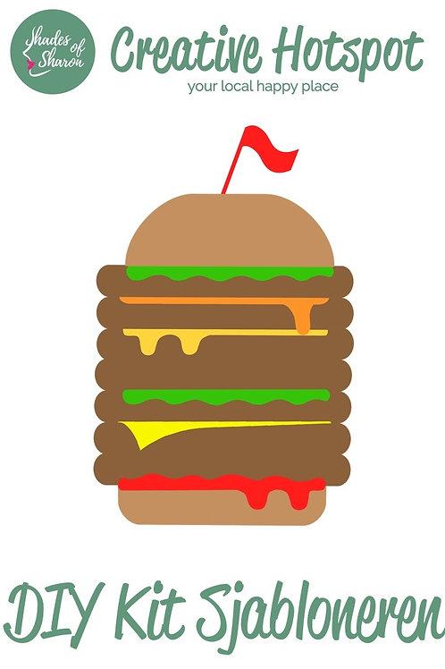 DIY Kit Sjabloneren Fast Food