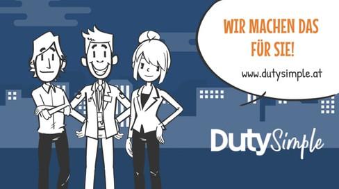 Erklärvideo für DutySimple