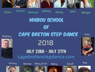2018 Mabou School of Cape Breton Step Dance