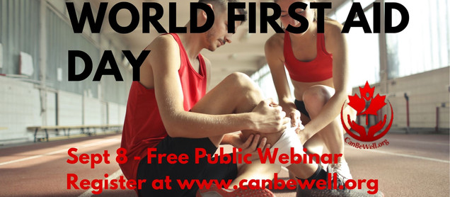 World First Aid Day - September 8th