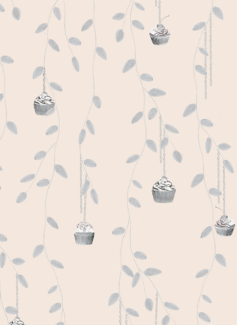 Little Falls wallpaper - Powder