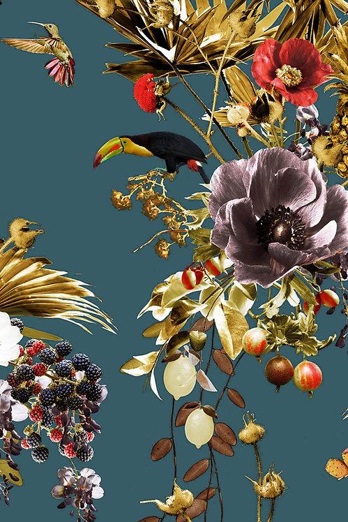 Amazonia Bloom wallpaper - Laguna