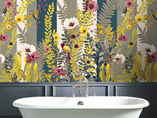 How To Wallpaper A Bathroom