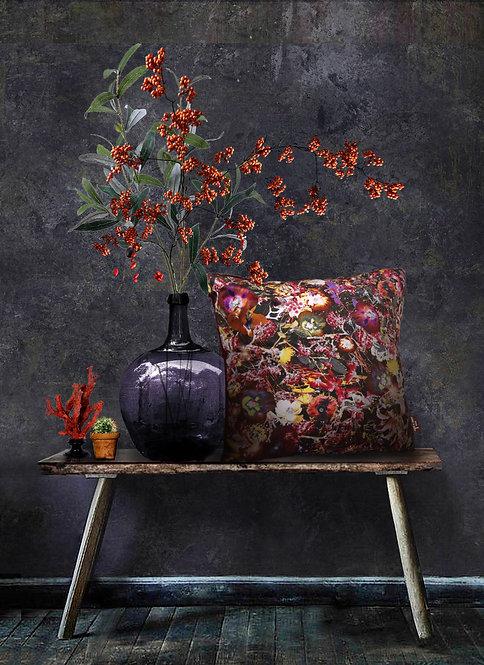 Sea Flowers - Velvet Cushion - Unique