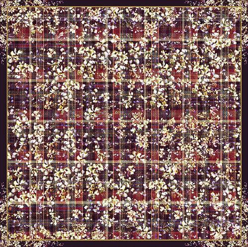 Tweed Flowers - Silk Scarf