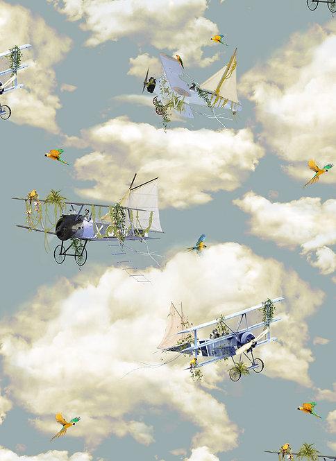 The Aviators wallpaper - Sky Blue