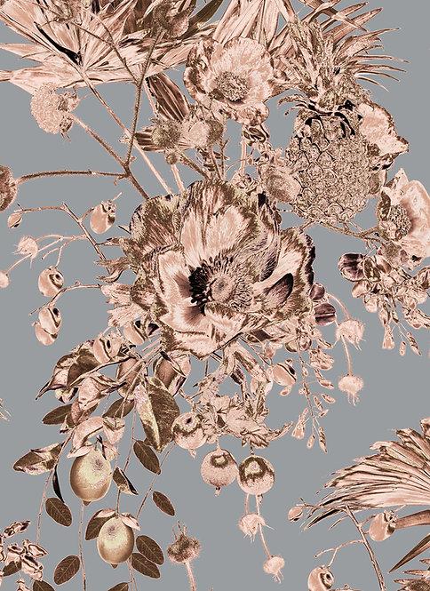 Wallpaper Sample - Secret Garden - Copper