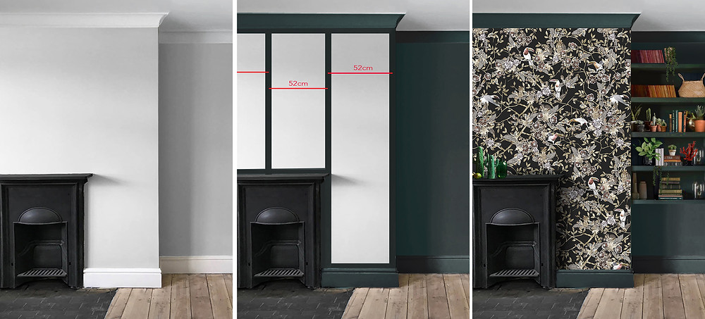 hanging dark wallpapers by Good & Craft