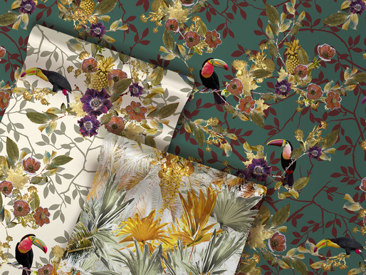 The History of Wallcoverings. Where do Wallpapers come from?