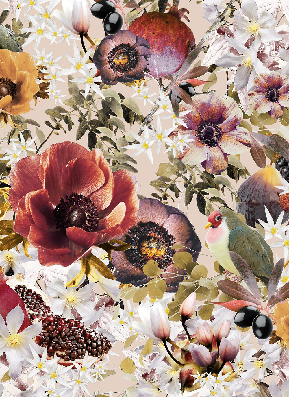 floral wallpaper by Good & Craft, Good and Craft