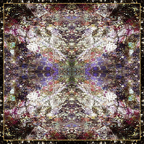 Sunny - Silk Scarf - Purple