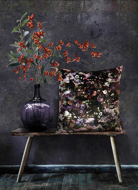 Underwater World - Velvet Cushion - Unique