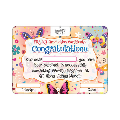 Congratulations Certificate | Kindergarten Education Materials ...