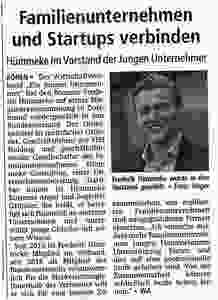 Wiederwahl Frederik Hümmeke