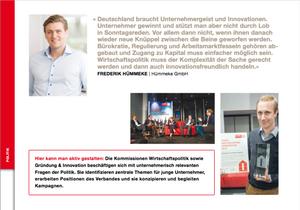 Zitat Gründungspolitik Frederik Hümmeke