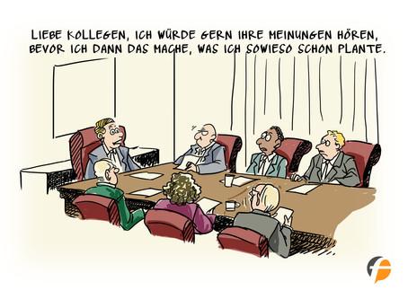 Unnötige Meetings