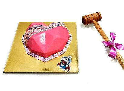 Pink Heart Pinata