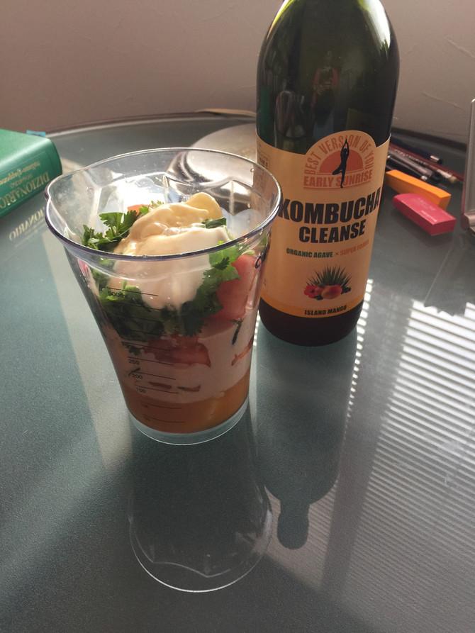 スムージーで野菜を手軽に摂取!   Easily ingest vegetables with smoothie!