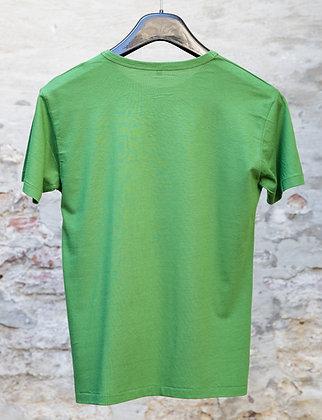 Bamboo - T-Shirt. Men Green