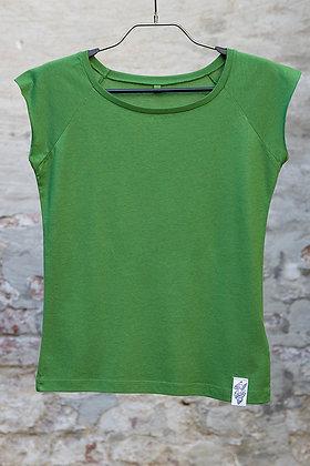 Bamboo T- Shirt -  Raglan Green