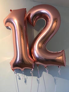 Helium filled numbers