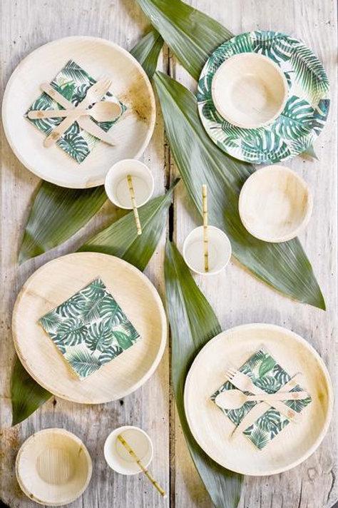 Eco-Friendly Palm Leaf Plates