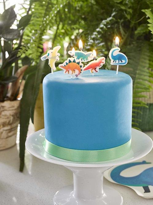 Dinosaur Shaped Candles