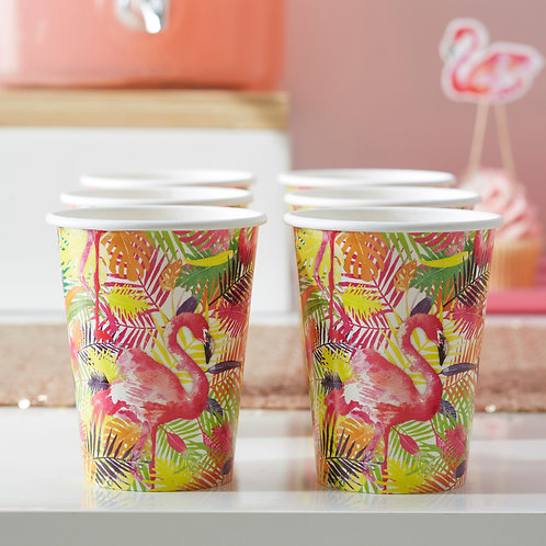 Flamingo Party Cups