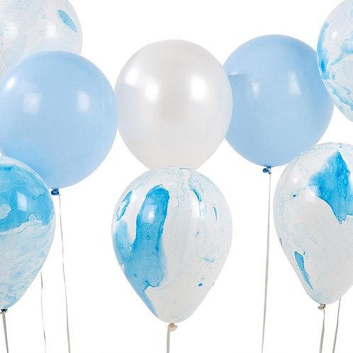 Blue Marble Balloon Assortment