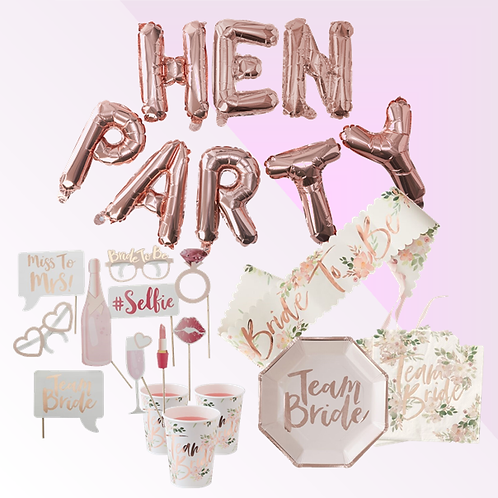 Hen Do Party Package