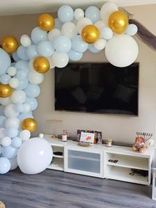 Half Balloon Arch
