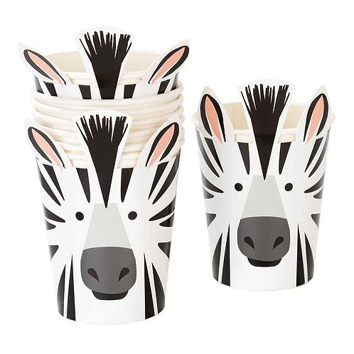 Animal Party Cup Zebra