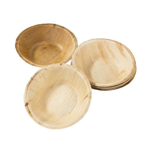 Eco-Friendly Palm Leaf Small Bowls