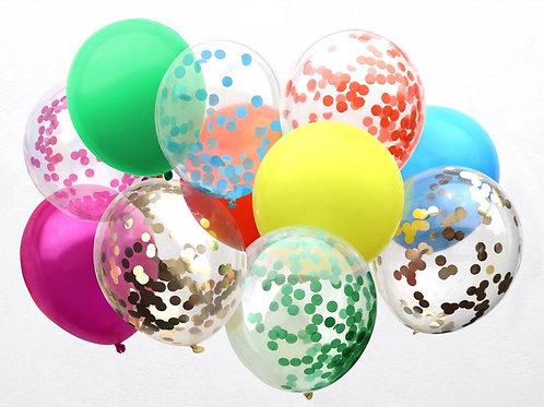 Rainbow Balloon Assortment