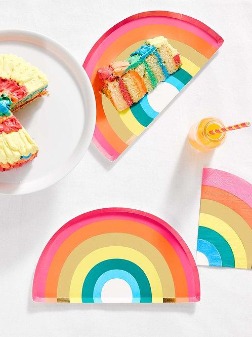 Rainbow Shape Plate