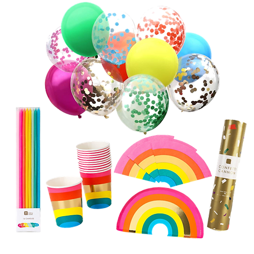 Rainbow Party Package Bundle