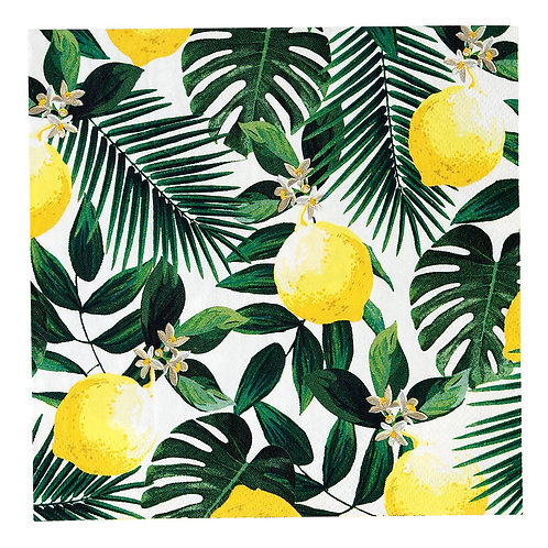 Lemon Party Napkins