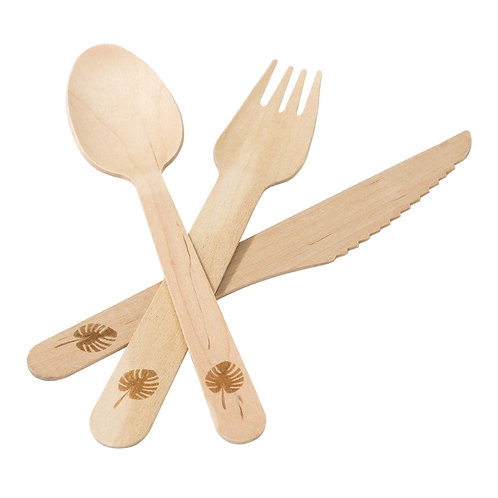 Eco - Friendly Wooden Cutlery