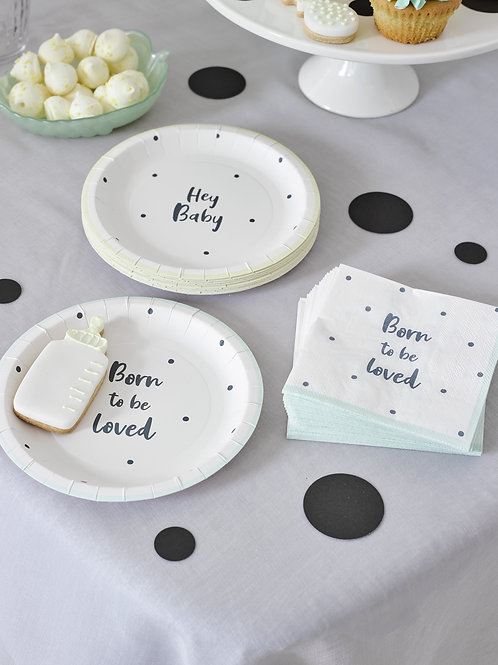 Baby Shower Side Plates
