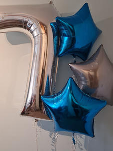 Helium filled numbers/ Shapes