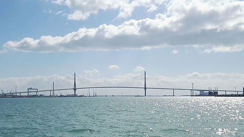 Bridge over the bay
