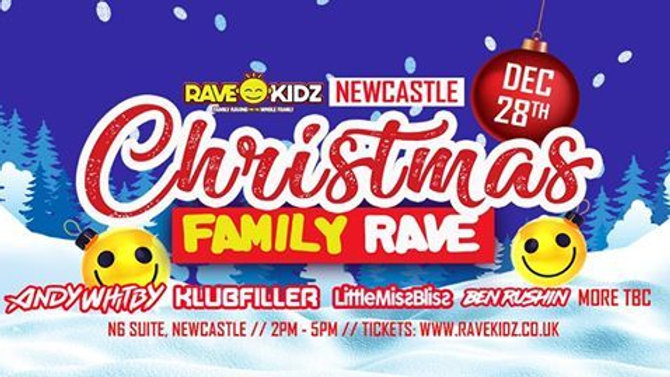 RAVE KIDZ Family Rave with Top DJ's & Entertainment