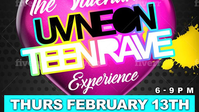 DEAL*** UV TEEN RAVE GROUP TICKET for 10