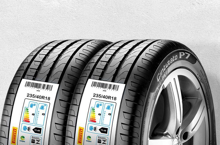 etiqueta do pneu