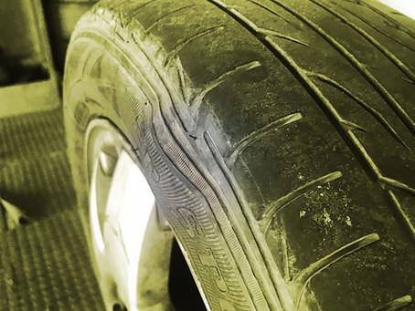 Bolhas no pneu, e agora? Saiba quais os riscos e dicas para evitar!
