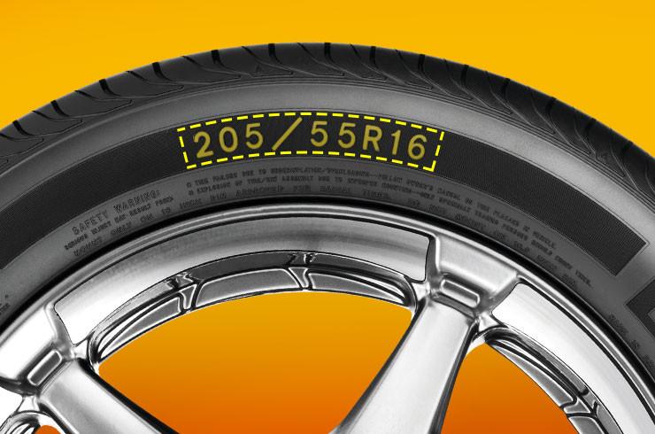 pneu e sua medida.